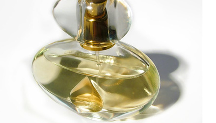 Perfumes are complex mixtures of natural and synthetic chemicals.