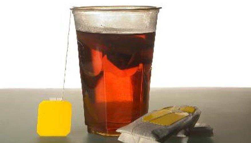 Aprende a quitar las manchas de té.