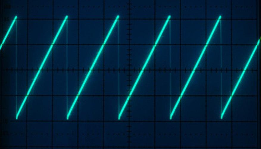 Los osciladores de un transistor pueden producir una variedad de formas de onda.