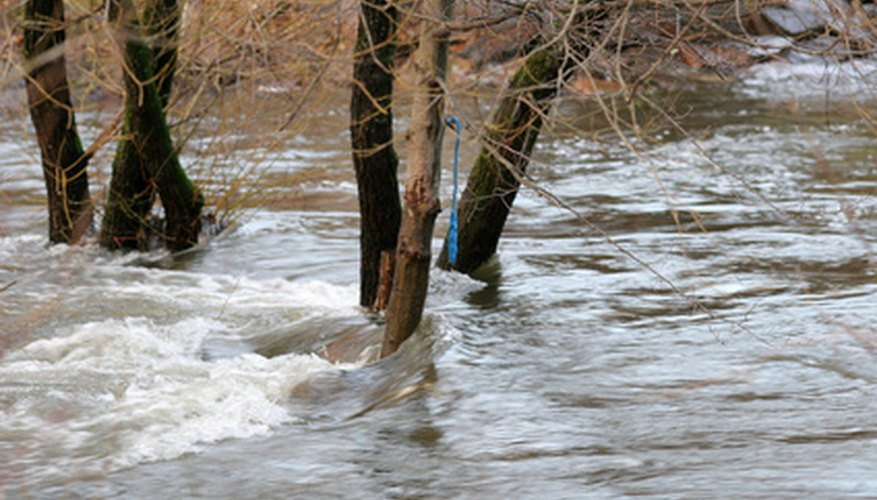 Flooding is the result of a seasonal high water event.