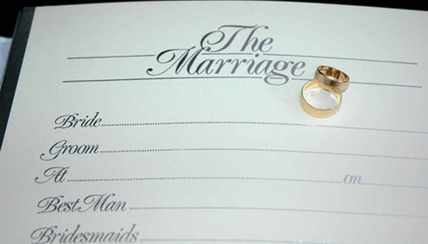 There are many free sources for marriage records.