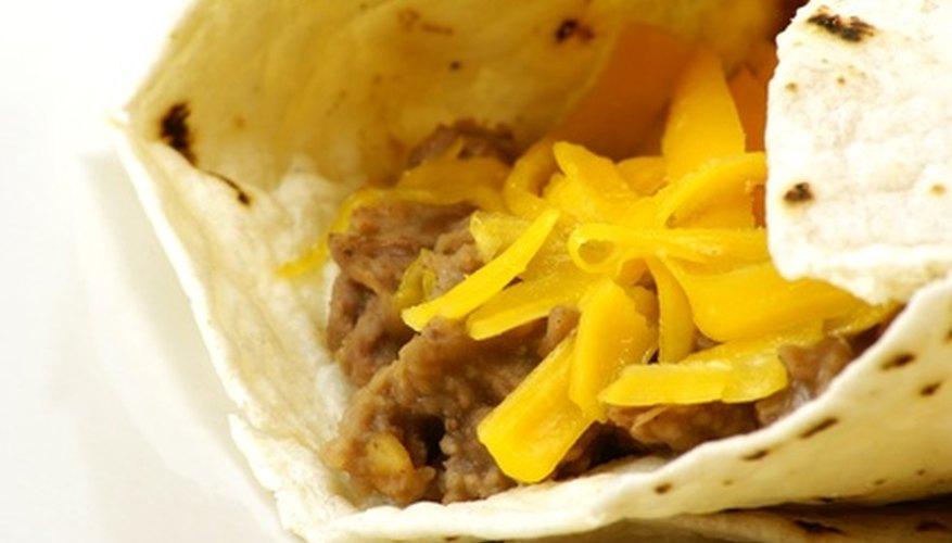 Los tacos y burritos son lo que más se sirve en los restaurantes mexicanos de servicio rápido y casual.