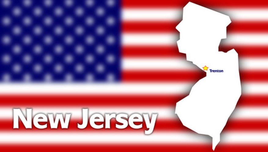 Drawing the state of New Jersey takes time and patience.