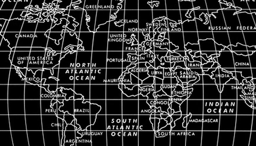 Los cartógrafos utilizan el sistema UTM para encontrar lugares en un mapa.
