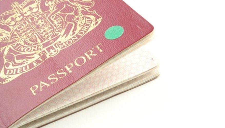 Necesitarás tener un pasaporte y una visa para ayudar como voluntario a los niños de Africa.