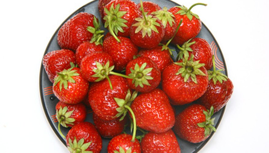 Homegrown strawberries are more fragile yet much more flavorful than commercial types.