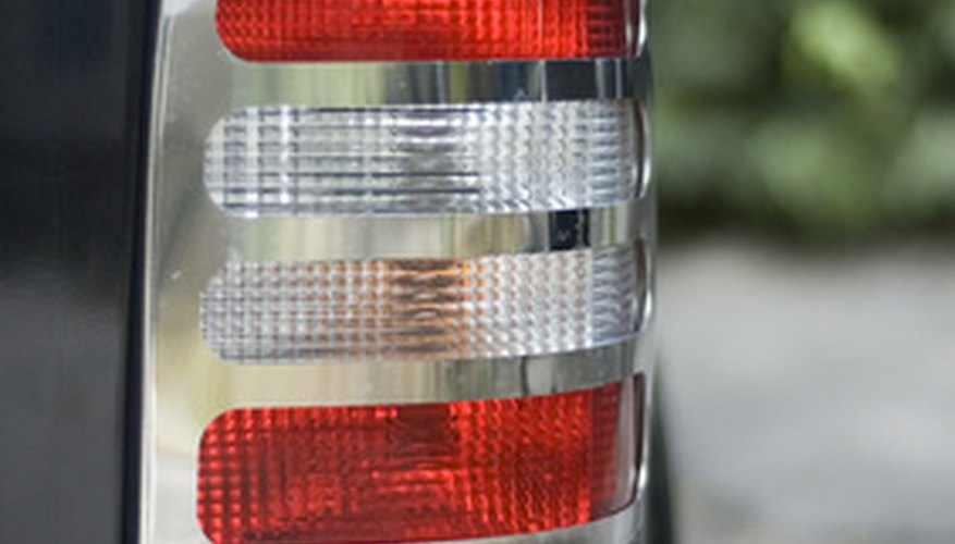 Taillight of a VW van