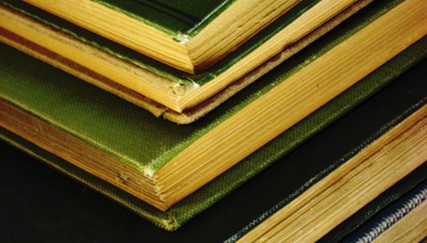 Preserva las páginas de los libros con el almacenamiento adecuado.
