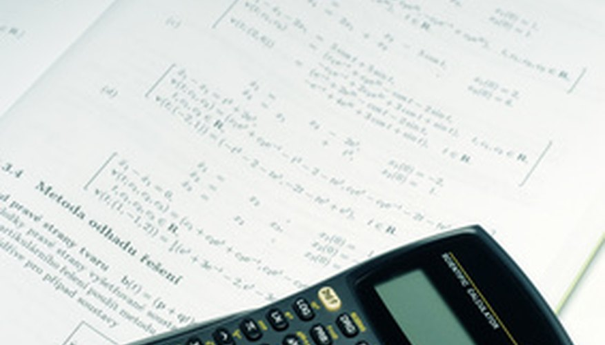 Many high school and college math courses require a scientific calculator, often a TI-83 or TI-84.