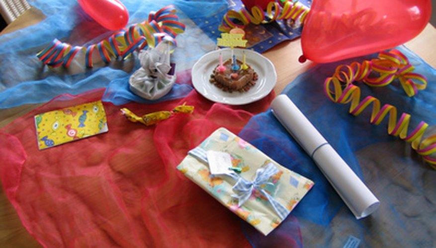Children's parties can be a profitable niche market.