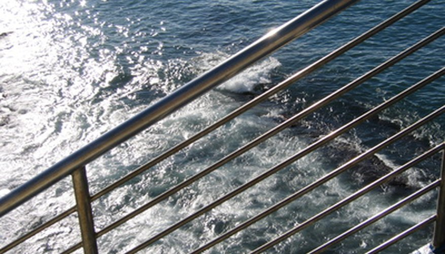 Aluminum railings that are constantly exposed to sea salt are particularly vulnerable to corrosion.