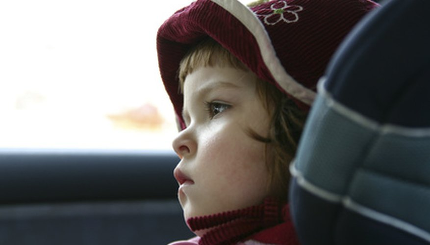 Ensure a child's safety in the car with simple car seat strap instructions.