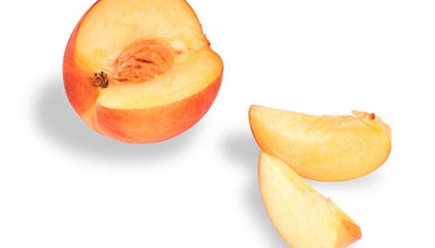 Bradford introduced white-fleshed peaches like these in the 1990s.
