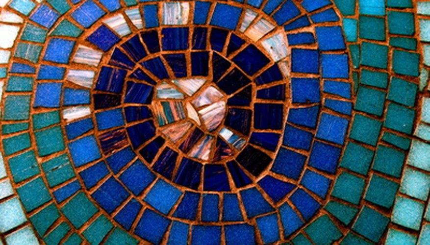 Haz tu propio mosaico de azulejos.