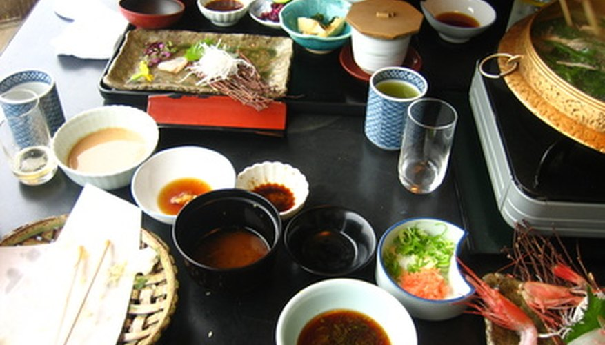 List any special items that come with the food.