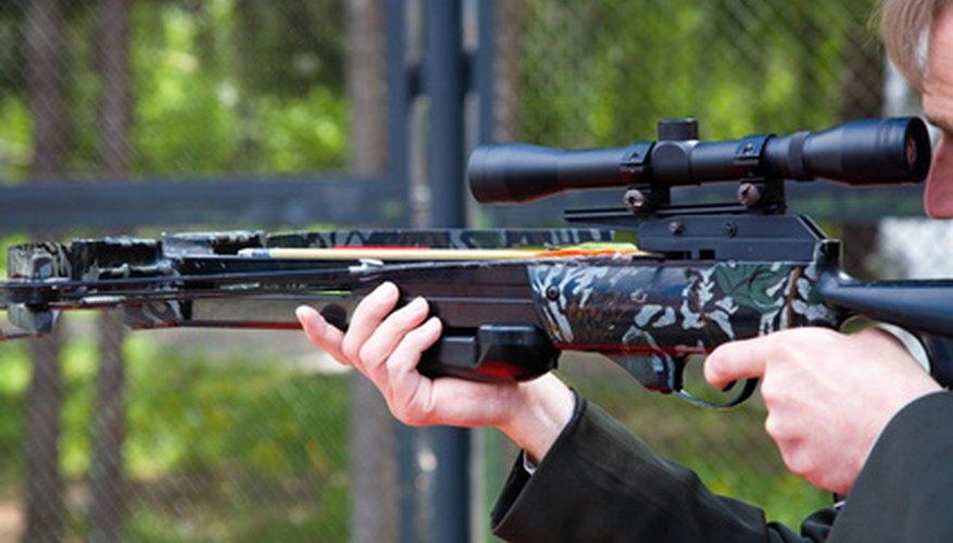 Un banco de tiro posibilita poner a punto tu rifle de cacería.