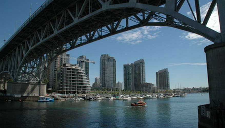 Vancouver is a city with both modern and rustic qualities.