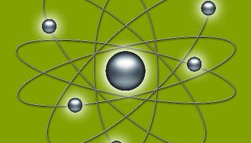 El estudio de la estructura del átomo es difícil porque no se puede ver a simple vista, sin embargo, los científicos pueden hacer un modelo del átomo basado en los experimentos.