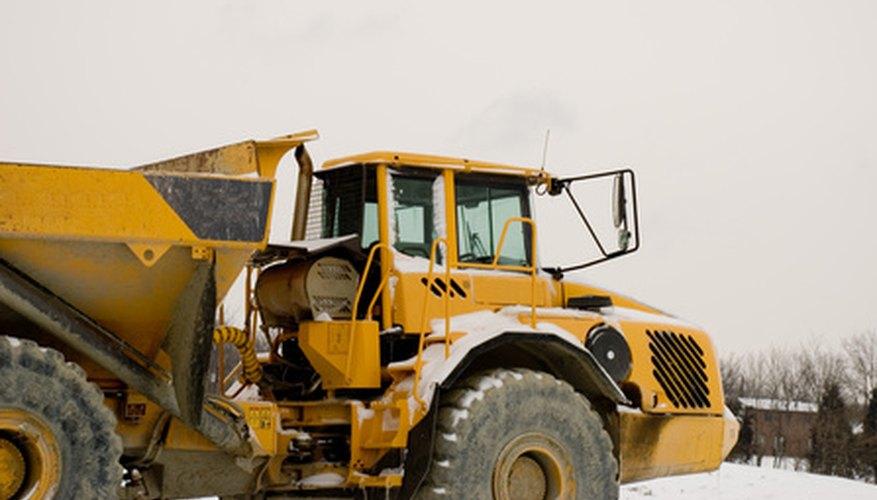 Aunque hay varios diseños diferentes de camiones de volteo, sus componentes básicos se mantienen más o menos lo mismo para todos ellos.