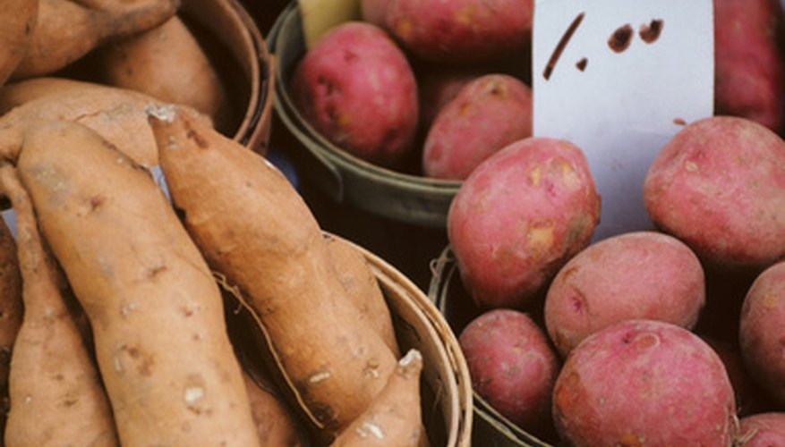 Sweet potato varieties have a range of harvest dates, tastes, colors and textures.