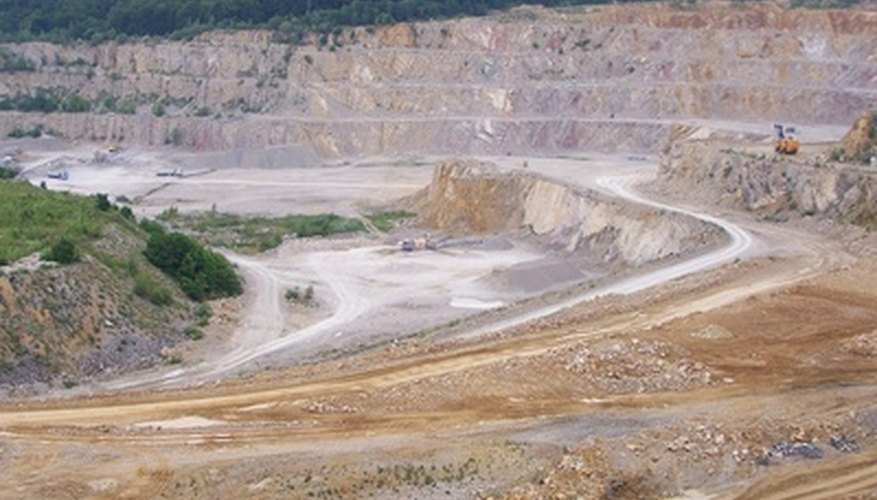 Limestone mining has environmental impacts.