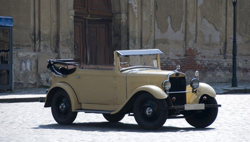 En los antiguos automóviles de Chevrolet se utilizaba el babbit, un metal blando, para hacer los rodamientos.