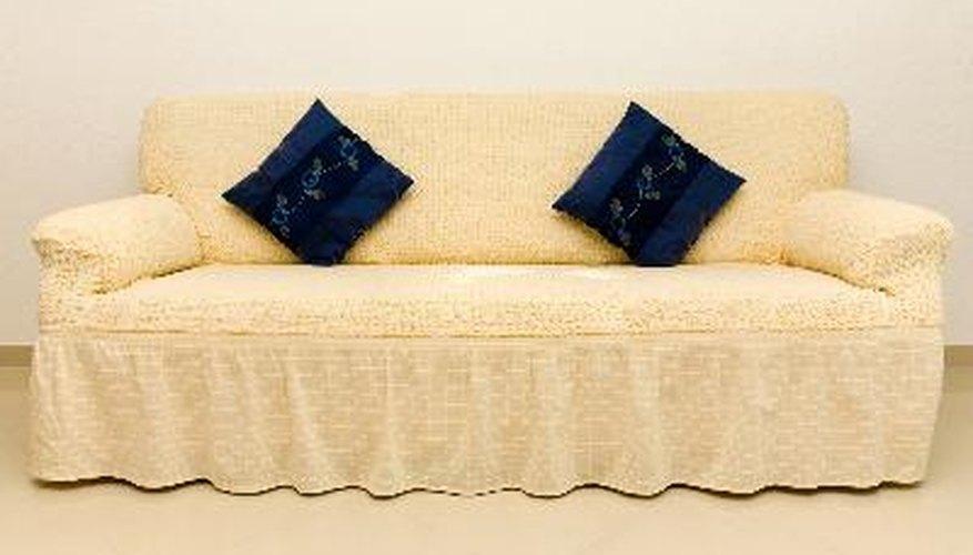 Haz con estas instrucciones una funda para tu sofá.