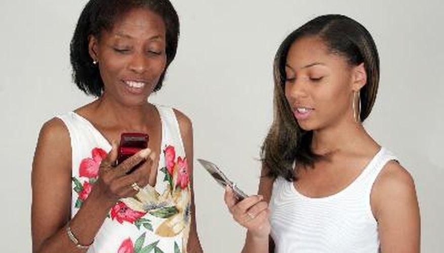 Los teléfonos celulares a menudo no funcionan bien en áreas rurales.