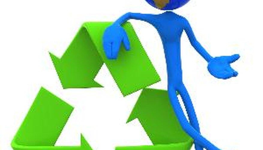 Los estudiantes pueden crear proyectos de reciclaje para ayudar a reducir el impacto de su escuela en el planeta.