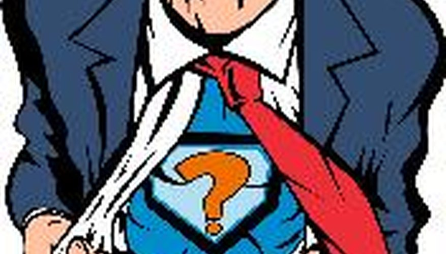 Los superhéroes tienen identidades secretas.