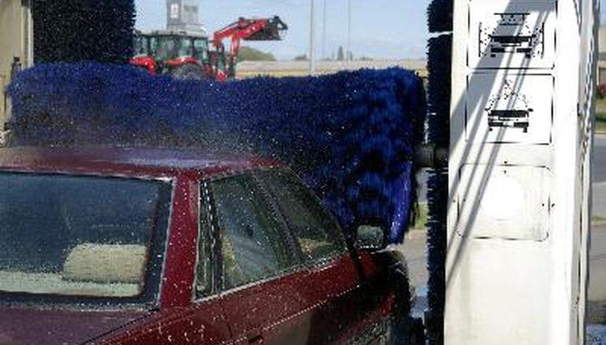 Esta agua purificada se utiliza en el ciclo de enjuague en los lavaderos de automóviles.