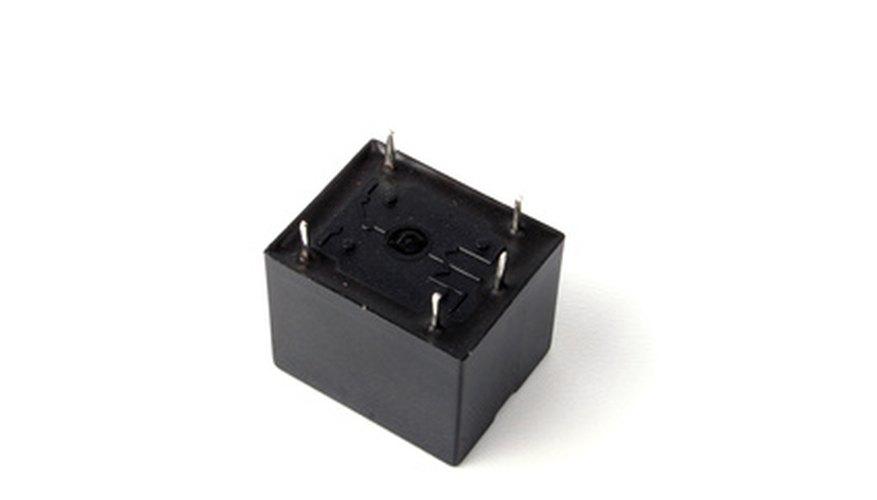 Funcionamiento de un relé de 12 volts