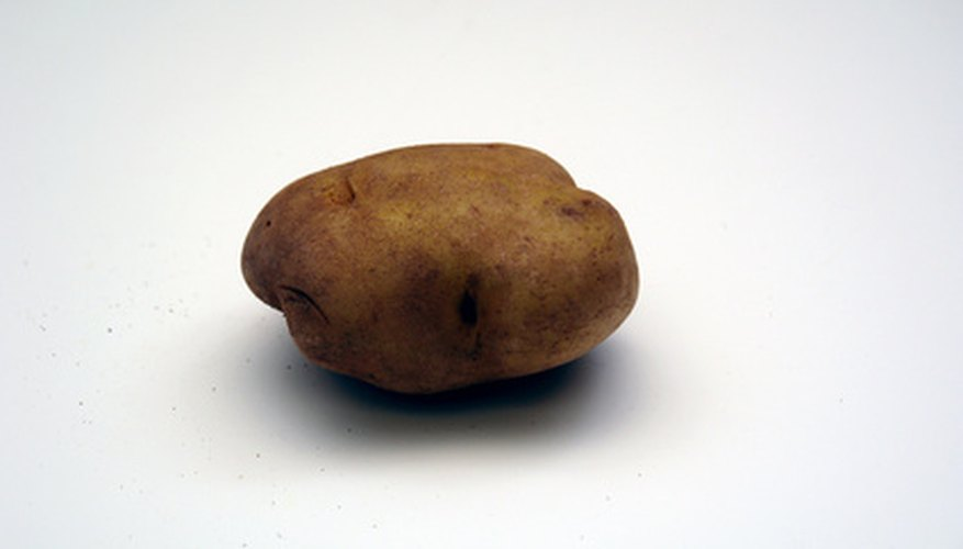A simple potato can be used to light a small LED or flashlight bulb.