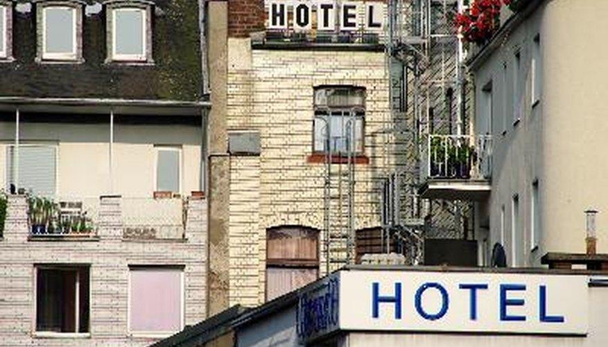 Clasificación de los hoteles.