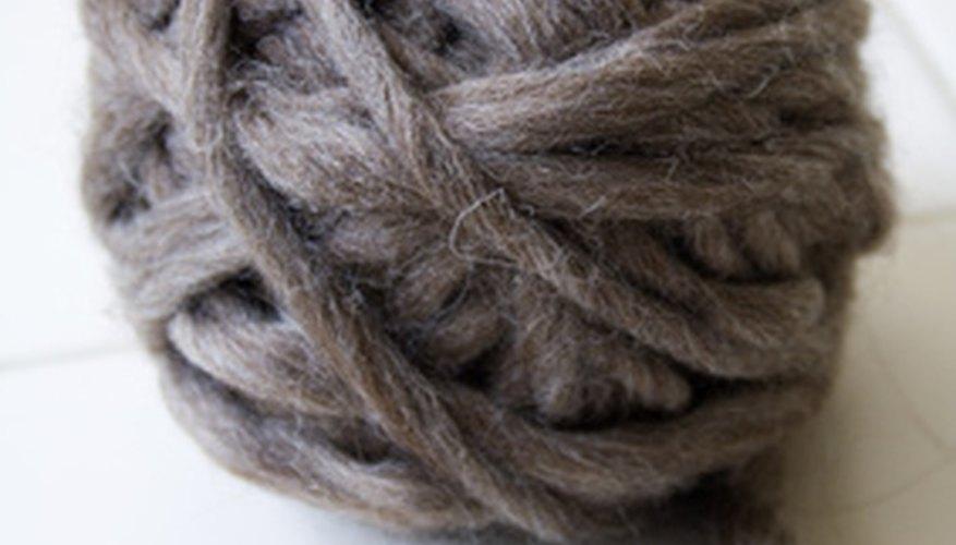 La lana sirve para hacer calentadores muy calientes.