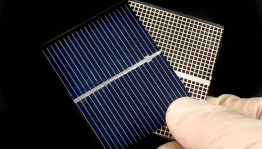 Solar cells and panels can be used to power motors and other electronic devices.