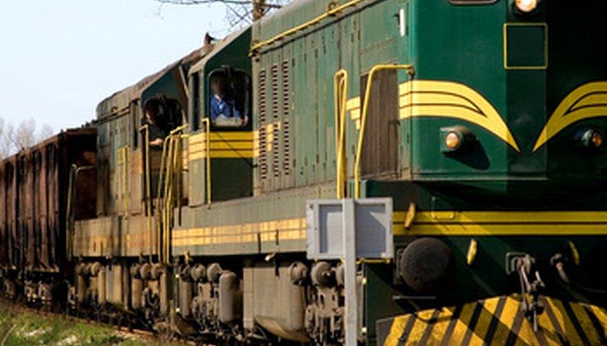 Las máquinas de vapor han dado paso a las locomotoras diesel modernos.