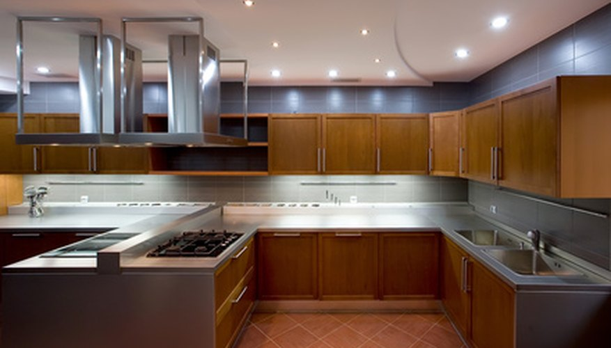 Appliances and plumbing for commercial kitchens must conform to international standards.