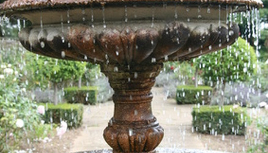 Water feature.