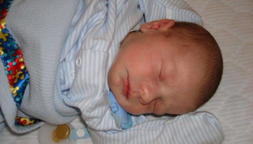 Algunos bebés de seis semanas son capaces de dormir durante toda la noche.