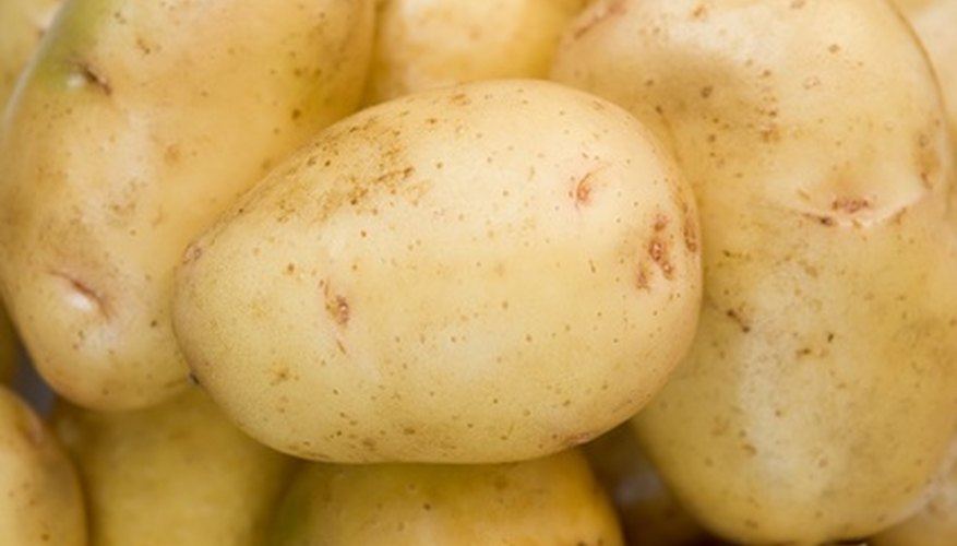 Potatoes are a high-yielding crop.