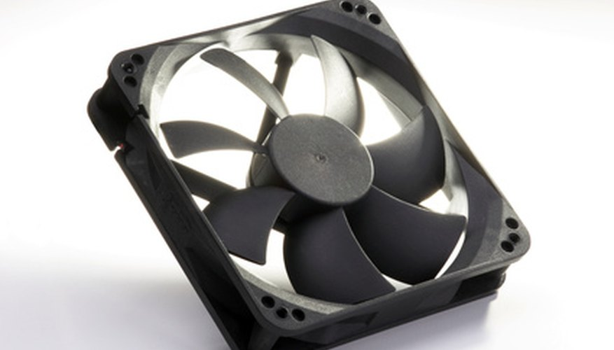 Un típico ventilador DC para computadoras