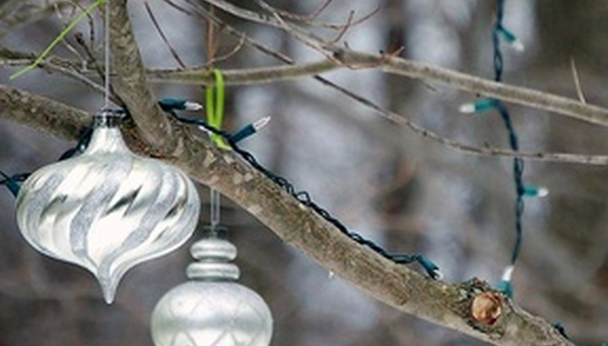 A few well-placed ornaments give your yard flair.