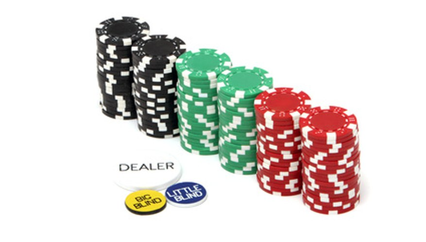 Dealing chips in poker sac a dos a roulette pour maternelle