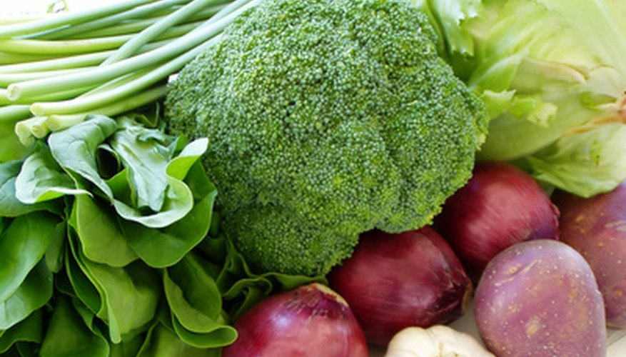 Plant vegetables that are frost hardy, like onions, broccoli and asparagus, in the fall.