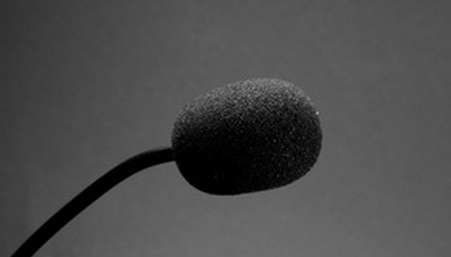Antes de estar frente al micrófono prepara tu discurso.