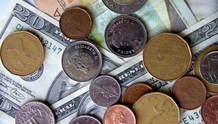 Keep track of the exchange rates when trading stocks outside Canada.