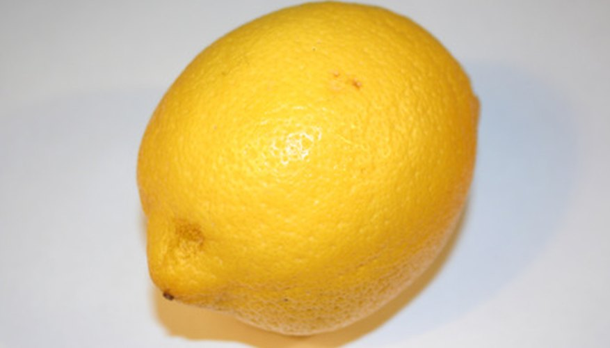 The high acidity of lemons make them the best fruit to use for creating batteries.