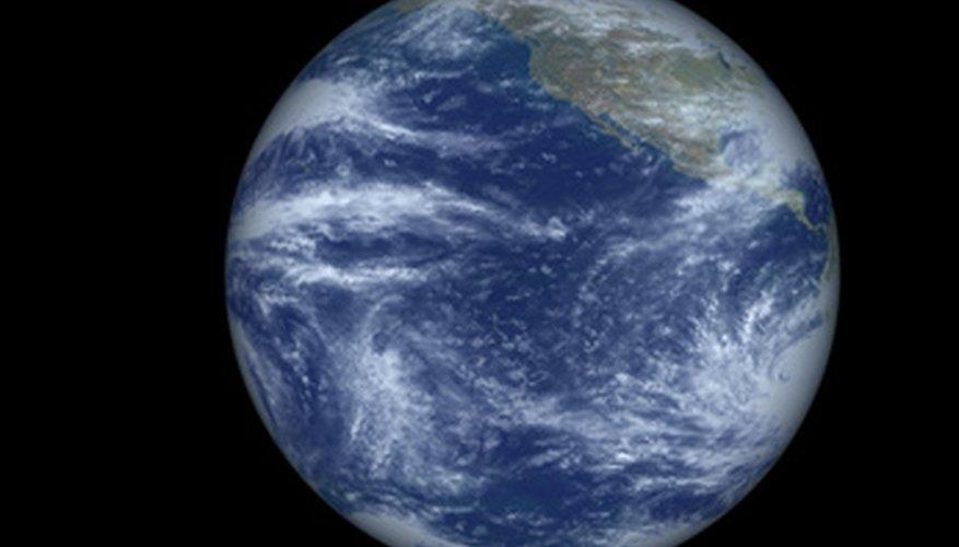 La atmósfera que rodea al planeta está compuesta por diversas capas.