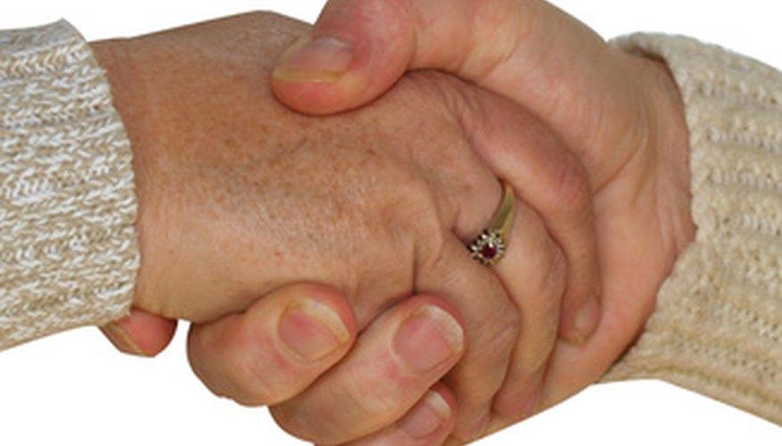 Los seguros involucran a dos partes en un acto de buena fe.